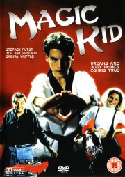 That Magic Kid font was created especially for the film.