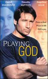 Hard to tell that Playing God stars David Duchovny.